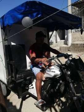 se vende motocarro akt 200