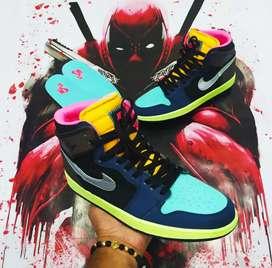 Tenis Nike Jordan Retro 1 High Bio Hack dama y caballero