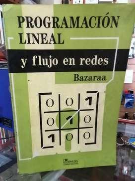 programacion lineal y flujo de redes bazaraa editorial limusa en la cava del libro aipod calculadoras tabliets domicilio