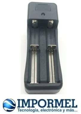 Cargador Bateria Recargable 3.7v 18650 Doble