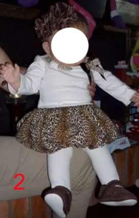 Vestidos Para Niña Y Bebe Marca Bonnie Baby Talla 2