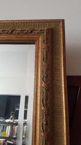 Vendo Permuto Espejo Cristal Alta Calidad Biselado 65x85 Cm.