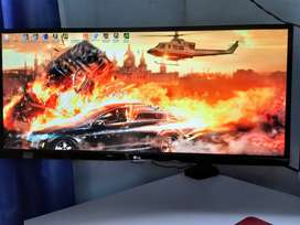"Monitor Gamer LG UltraWide IPS LED 25 ""+ Brazo Soporte Monitor"
