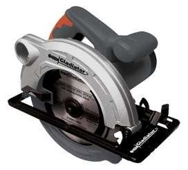 Sierra circular eléctrica Gladiator SC 507 185mm 1400W 50Hz/60Hz gris 220V