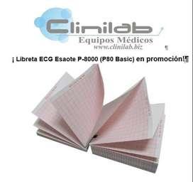 Libreta ECG Esaote P-8000