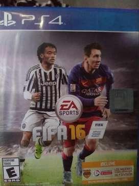 Se vende FIFA 16 para Ps4
