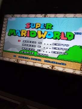 Cassett de Super Nintendo juego 8 en 1 multijuego 64