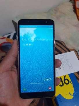 Samsung j6 en perfectas condiciones se entrega con cargador original