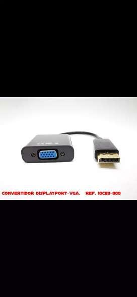 Convertidor displaypor - vga