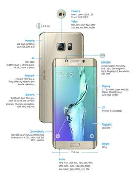 Samsung s6 edge plus - leer