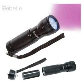Linterna Luz Ultravioleta Uv Detector Billete Falso Envío Ya!