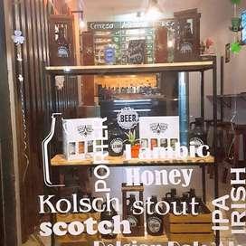 Venta de fondo de comercio estacion de recarga de cerveza artesanal
