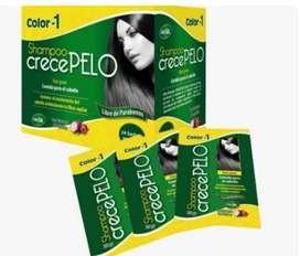 Shampoo crecepelo-caja sachet x 24 unidades