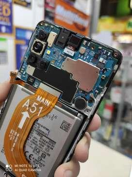 SE VENDE LOGICA O TARJETA COMPLETA  SAMSUNG A51 128GB