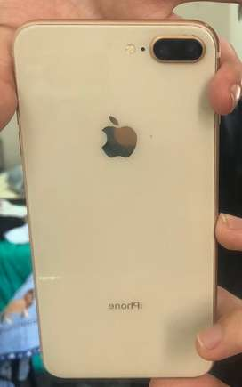 Vendo Iphone 8 plus 64 gb urgente en excelente estado !