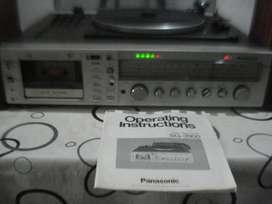 Equiipo de Musica Panasonic Sg 3900 Japan parlantes caja madera