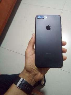 Se vende iphone 7plus 128 gb estado 10/10