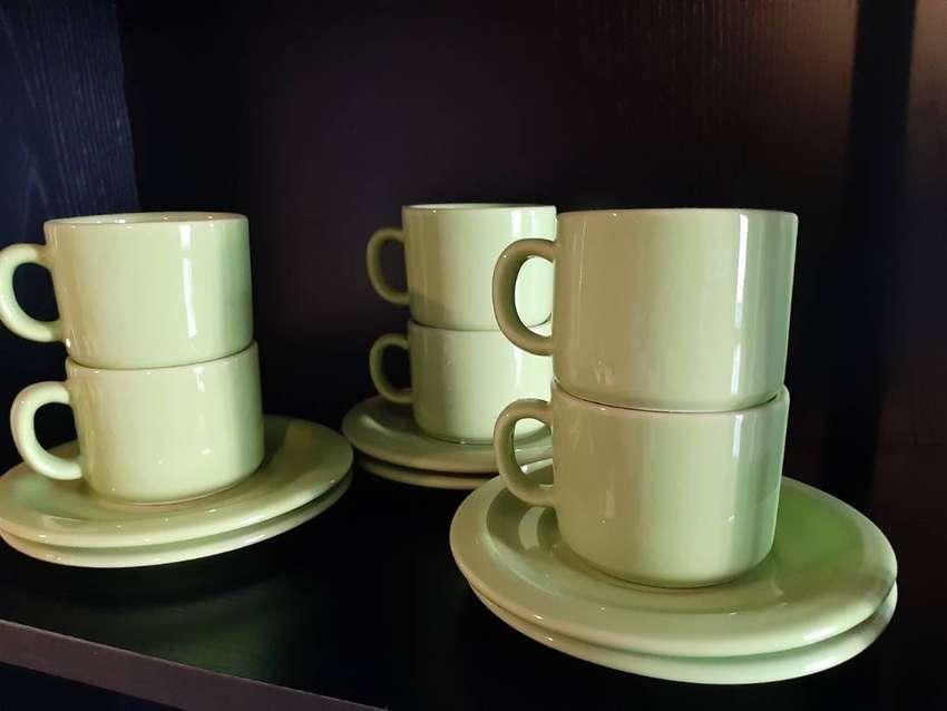 Juego de te de ceramica esmaltada 0