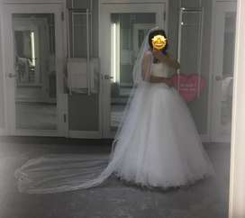 Vestido de matrimonio para dama