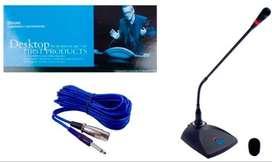 Microfono Audioart ART-401 cuello flexible para conferencia Music Box