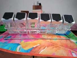Especiero recipientes en vidrio