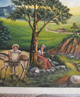 Paisaje campestre Colombiano