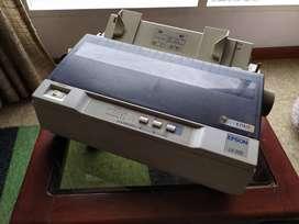Impresora Epson Xl300 + Cable Adaptador Y Cartucho