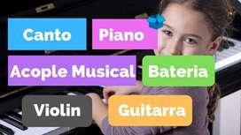 CLASES DE MUSICA PARA NIÑOS , JOVENES Y ADULTOS