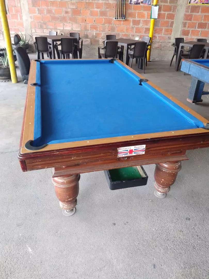 Se vende 2 mesas de pool y un de billar 0