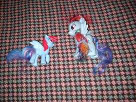 My Little Pony  Rainbow (2)Muñeco  9cm + 6cmDash Hasbro