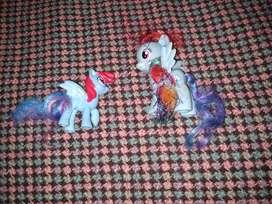 My Little Pony  Rainbow (2)Muñeco  9cm + 6cmDash Hasbro