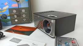 Video beam Pequeño y Economico UNIC UC26 Mini Micro LED Projector 500 ANSI LUMENS