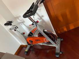 Ganga Bicicleta Spinning de Cadena 2600BS de Athletic