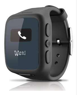 Reloj Weki - Gps - Telefono - Sos Colores Negro Y Rosado