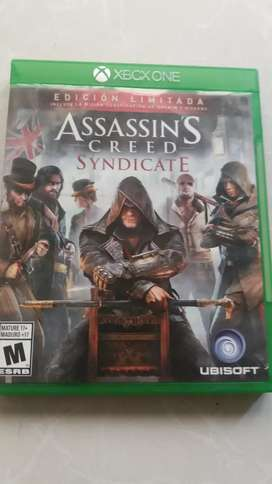 Juego xbox one ASSASSIN CREED SYNDICATE