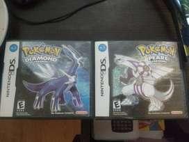 Pokemon Diamante y Perla DS