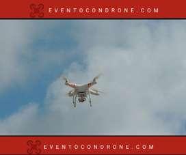 Drone para fotografía y videos en eventos