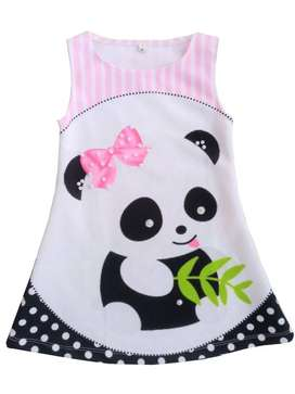 Vestido Osito panda