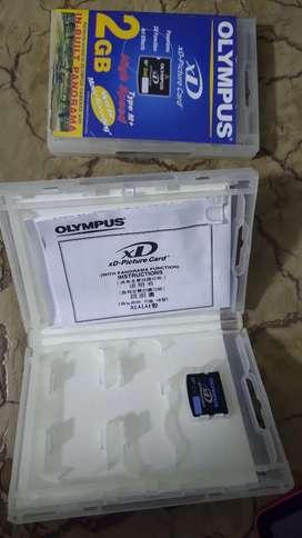 XD Olympus 2gb de memoria original