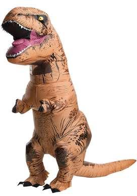 T-Rex Dinosaurio Inflable Disfraz