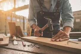 Necesito carpintero con experiencia
