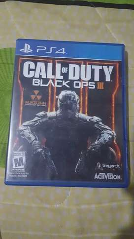 Vendo Call Of Dutty Black Ops 3