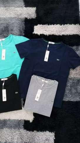 Camisetas tela fría para hombre