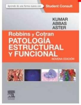Vendo libro Parologia estructural y funcion Robbins y Cotran (Porth)