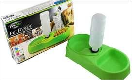 comedor y bebedero para mascotas perros y gatos