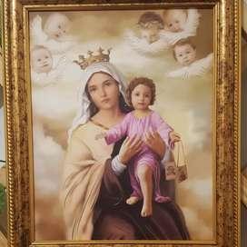 Cuadro Virgen del Carmen
