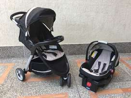 Graco Fast Action Fold Sport Click Connect Travel System