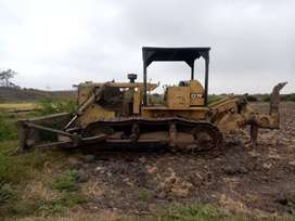 Tractor hidromatico D7F reparado motor a toda prueba