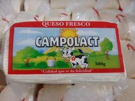 Venta de queso fresco de  mesa
