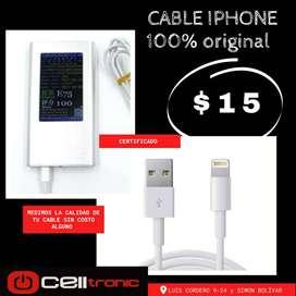 Cable Cargador Usb iPhone 100%Original Apple